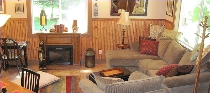Benson Cabin Living Room