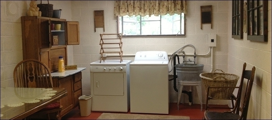 Common Laundry Area